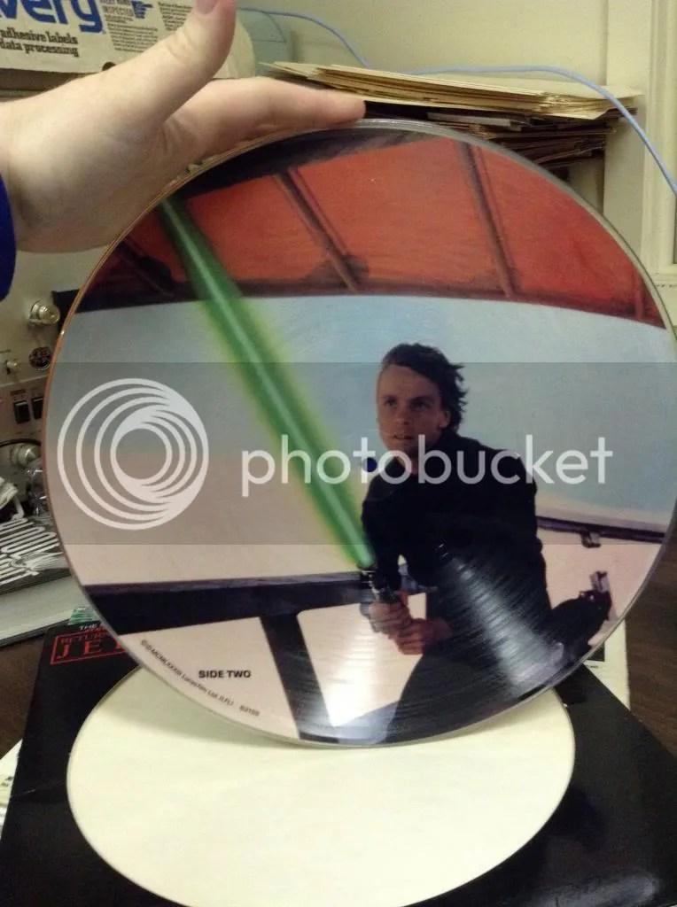 Luke Skywalker record