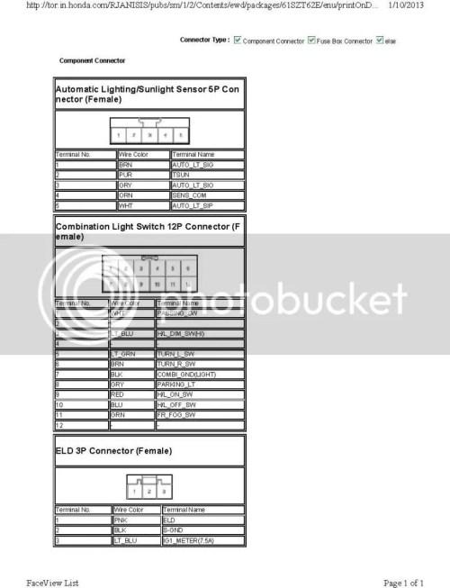 small resolution of 2013 headlight schematics n courtesy of college hills honda