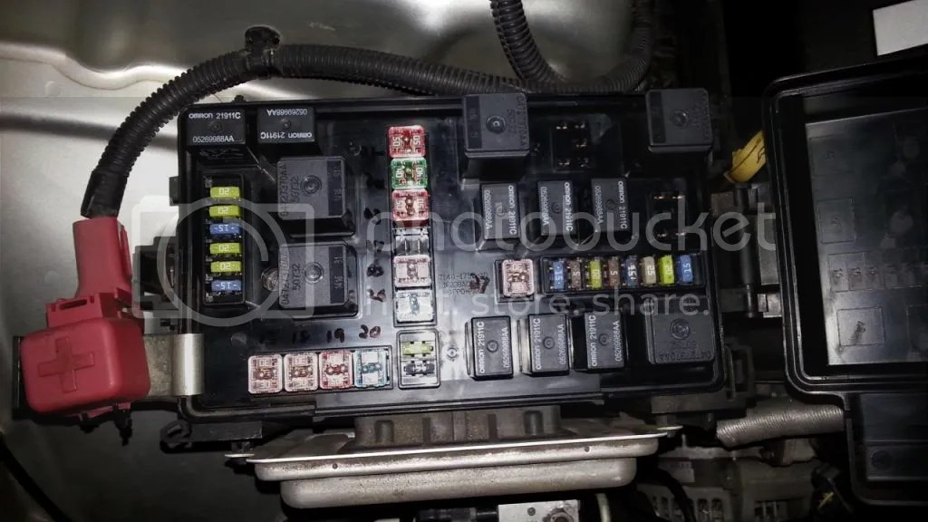 Fuse Diagram Fuse 24 Radiator Fan Missing Chrysler 300c Forum 300c