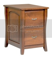Amish File Cabinet Solid Wood Wooden Vertical Office Home ...