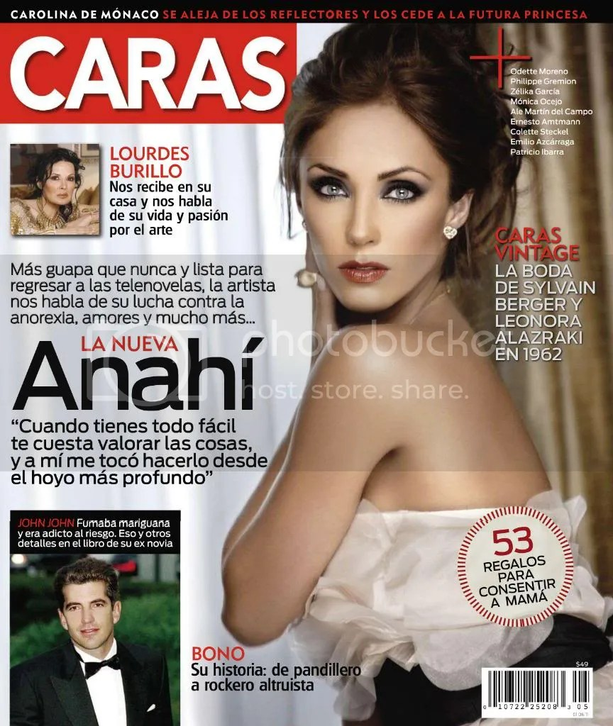 Portada / Coperta - Revista 'Caras Mexico' (click for all the scans)
