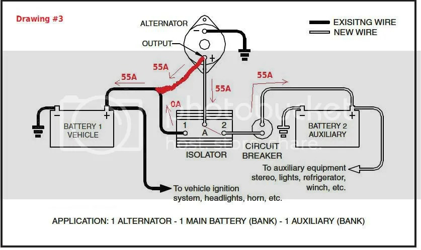 12 volt winch 2 solenoid wiring diagram 97 jeep grand cherokee laredo radio battery isolator | get free image about