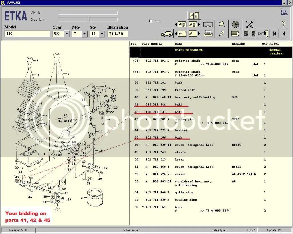 vw transporter parts diagram
