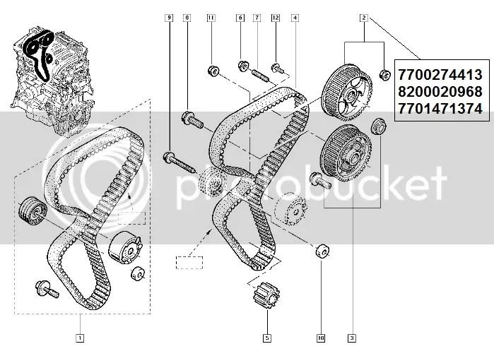 RENAULT CLIO LAGUNA KANGOO THALIA MEGANE SCENIC 7701471374