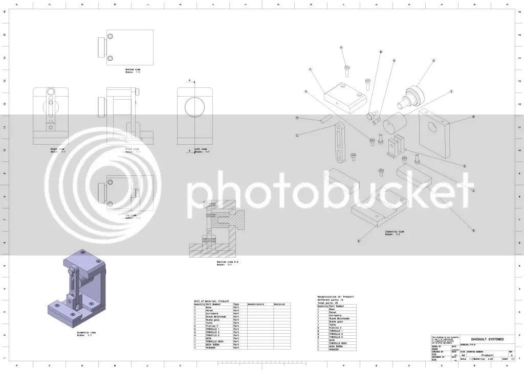 Mecanizados: Proyecto Diseño y Mecanizado de Mecanismo