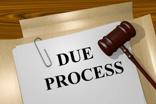 Image result for due process images