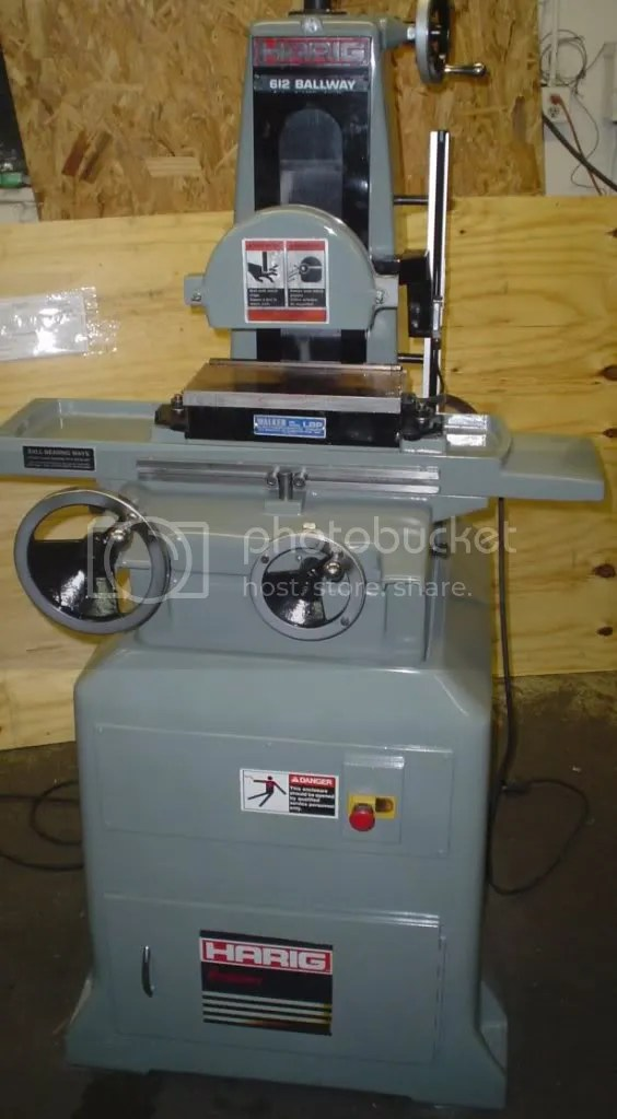Harig Surface Grinder Repair Parts