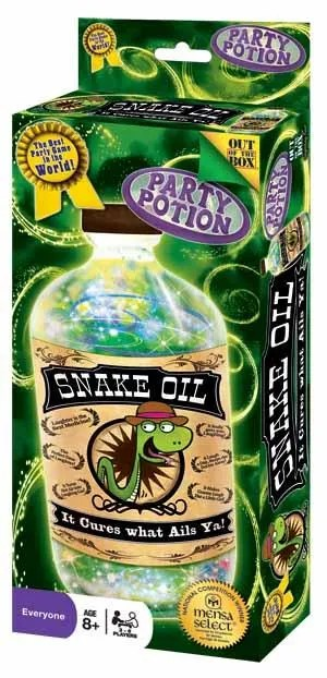 how to make snake oil