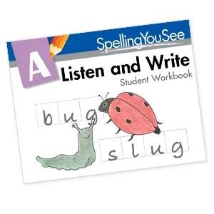 Homeschool Kindergarten Curriculum - SpellingYouSee