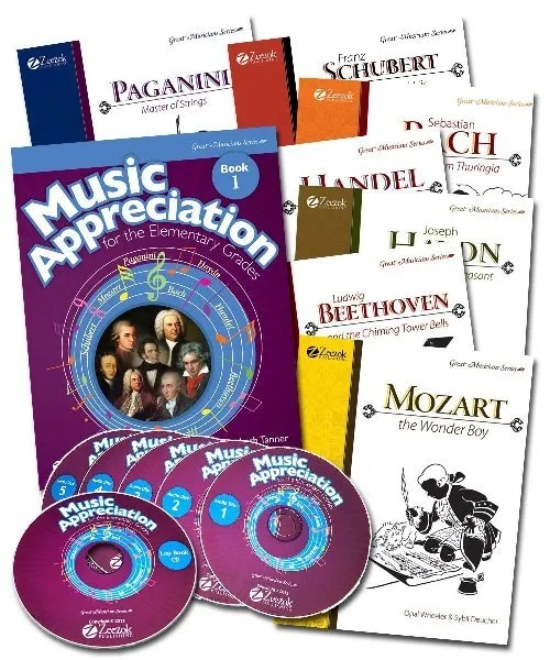 Music Appreciation for the Elementary Grades {Zeezok Publishing LLC Review}