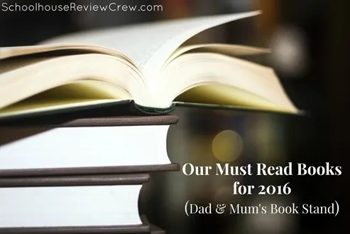 Our Must Read Books for 2016 {Dad & Mum's Book Stand}