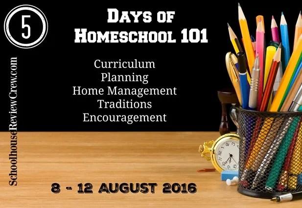 5 Days of Homeschool 101