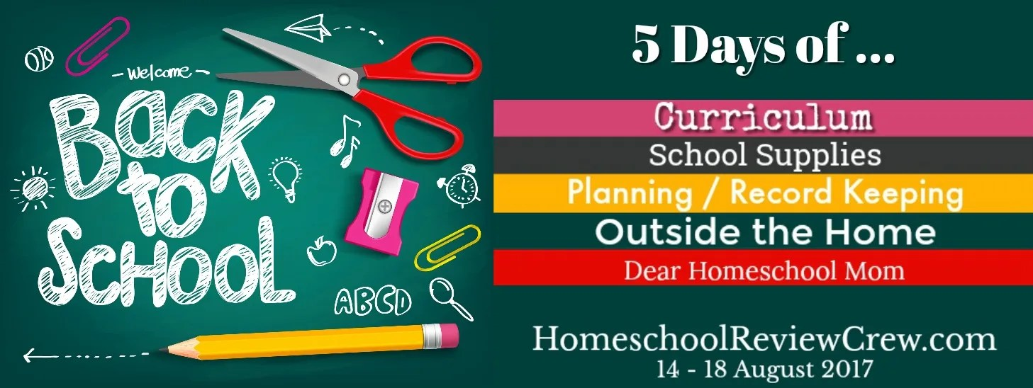 Back to Homeschool Annual Blog Hop - 2017
