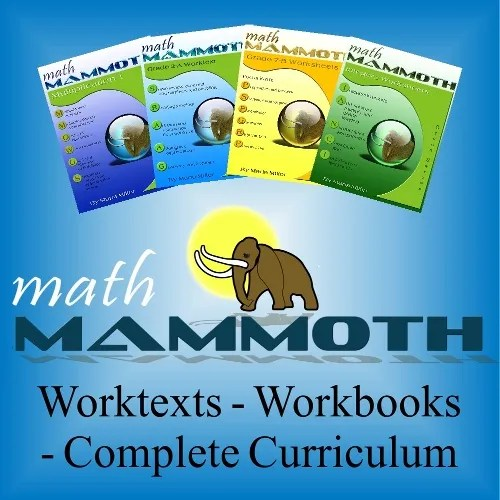 Affordable Quality Math {Math Mammoth }