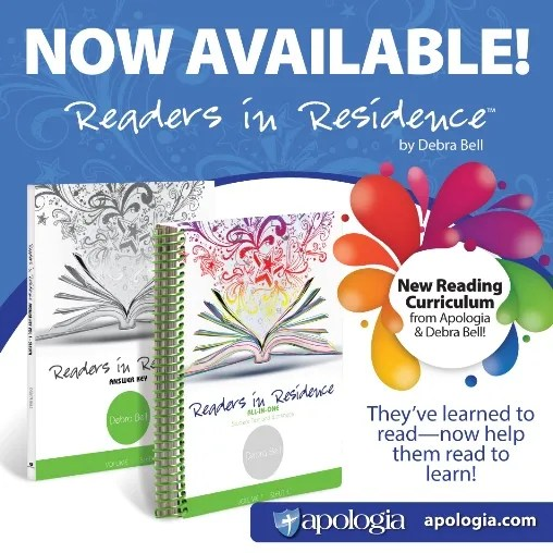 Apologia Educational Ministries Readers in Residence