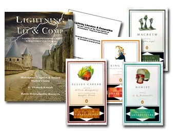 Lightning Literature and Composition Pack Shakespeare Tragedies & Sonnets