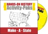 Hands-On History Activity-Paks: Make-A-State