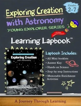 Apologia Exploring Creation with Astronomy (1st Edition) Lapbook