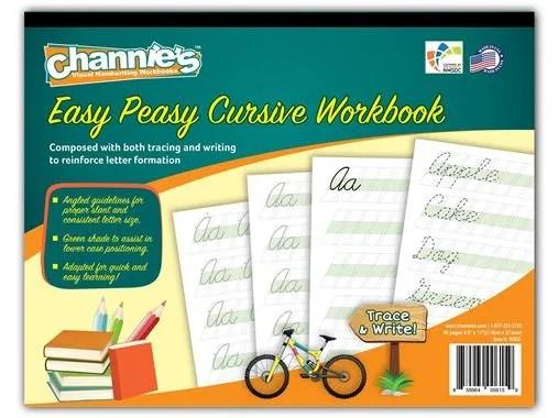 Homeschool Crew Review: Easy Peasy Cursive - Mom's Plans