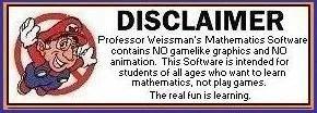 Math 911 Disclaimer