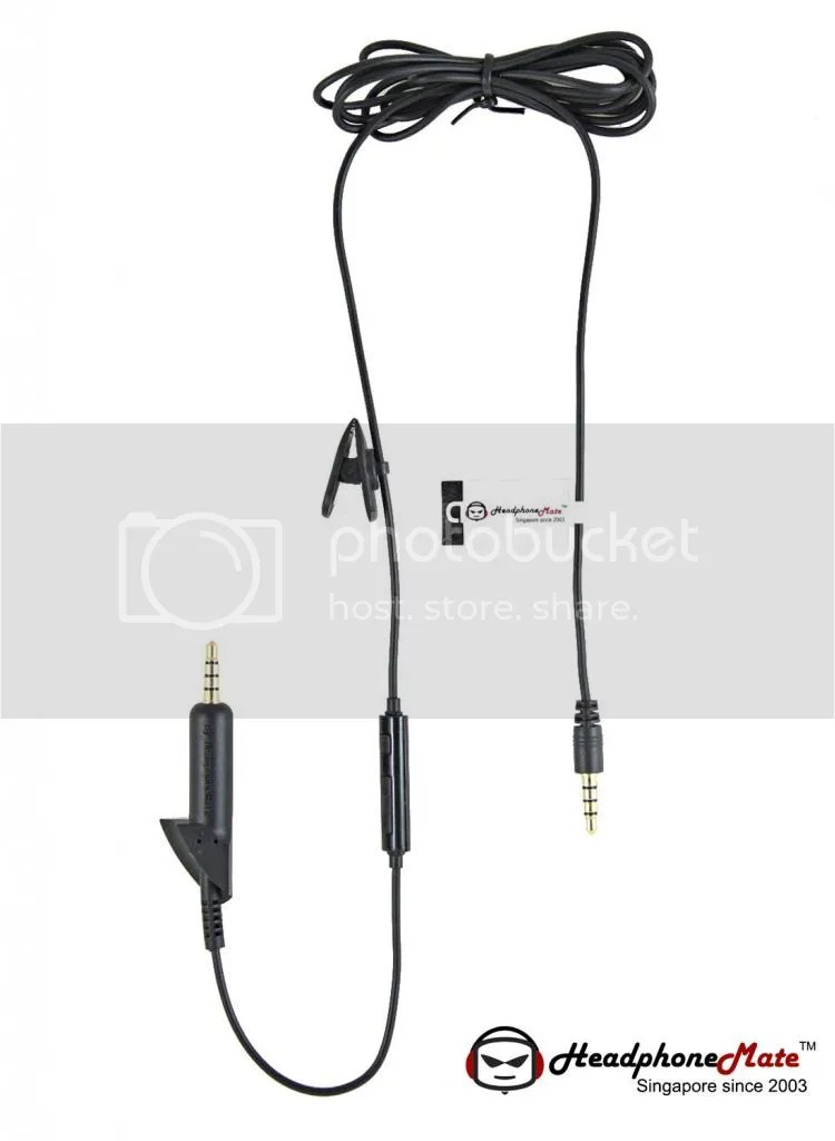 HeadphoneMate Audio Remote Cable for Bose QC 15 2