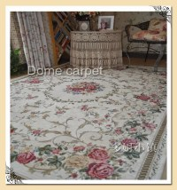 1 PC Victorian Country Style Floral Floor Mat Rug Carpet ...