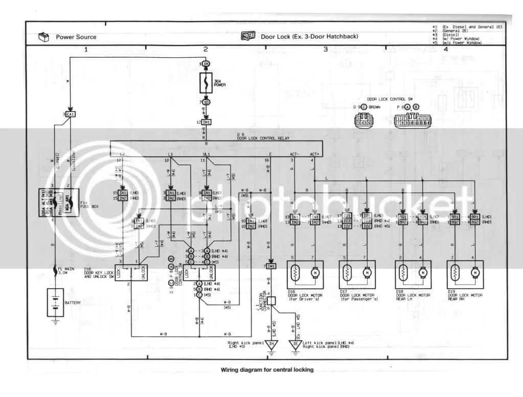 Toyota corolla stromlaufplan