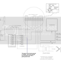Goodman Wiring Diagram Mono How To Wire Aprilaire 60 Humidistat Furnace Skip The G And Gf Hook Up