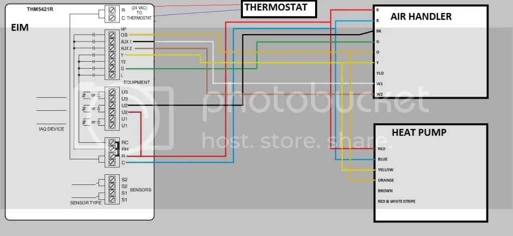 Two Stage Thermostat Wiring Diagram - Heat Pump Air Handler Wiring Help Doityourself Com Community - Two Stage Thermostat Wiring Diagram