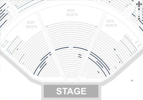 Marcus Amphitheater Seating Chart With Rows And Seat