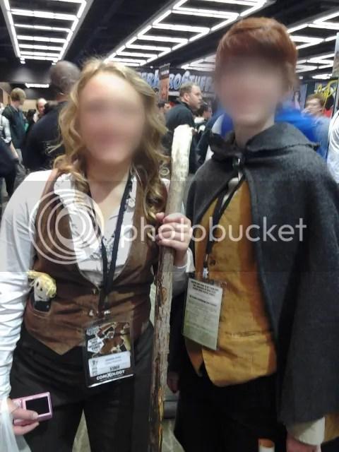 lady hobbits!