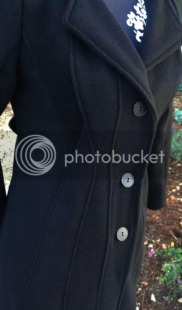 Lekala 4298 Seamed Coat Detail - WithNeedleAndThread