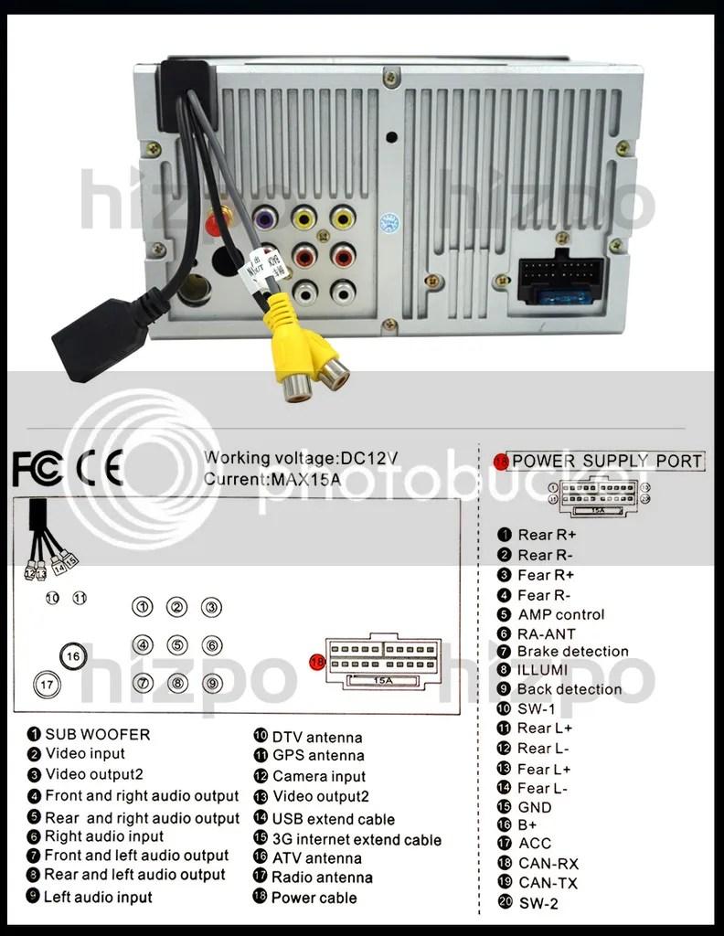 HIZPO 2006-2012 TOYOTA RAV4 Car DVD Player 2DIN GPS