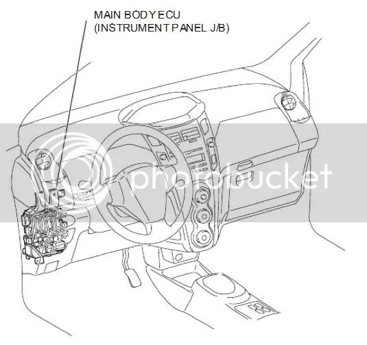 Main body ecu toyota