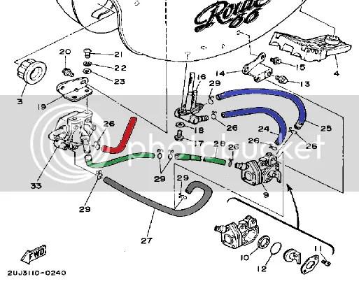 Yamaha V Star 1100 Fuel Line Diagram, Yamaha, Free Engine