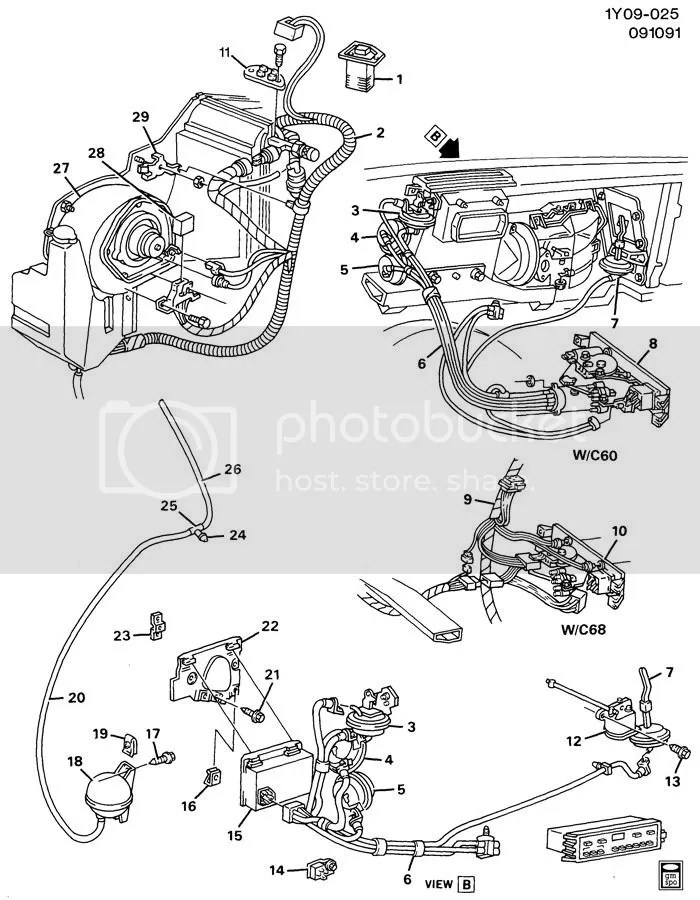 Heater Hose Diagram 88 Corvette, Heater, Free Engine Image