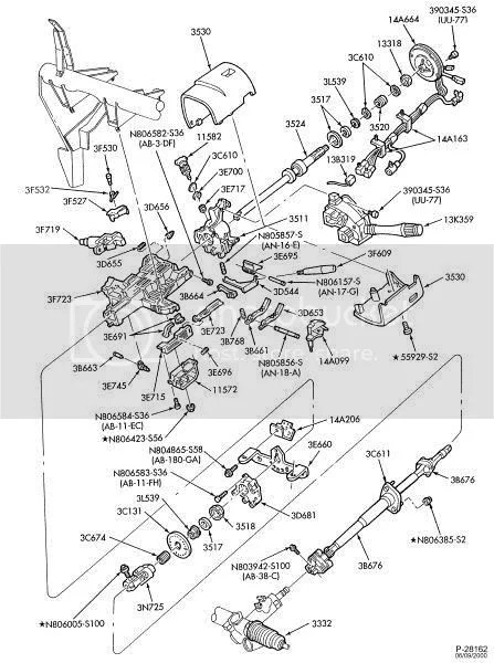95 Mustang Steering Column Diagram Photo by waynep712