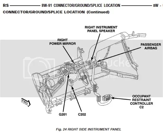 Page 3: weird electrical problem, 2006 Chrysler Town and