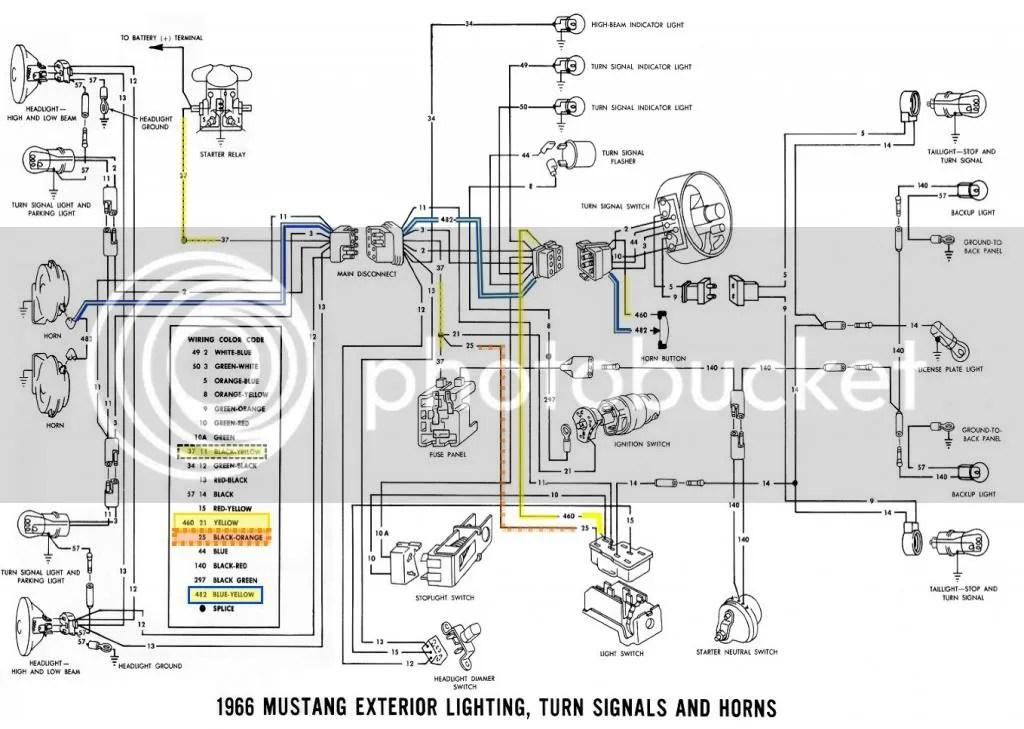 1968 Mustang Turn Signal Switch Wiring Diagram Get Free