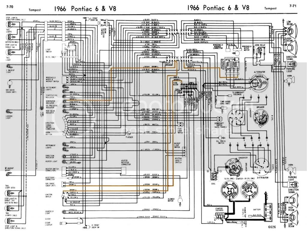 hight resolution of 67 gto wiring diagram