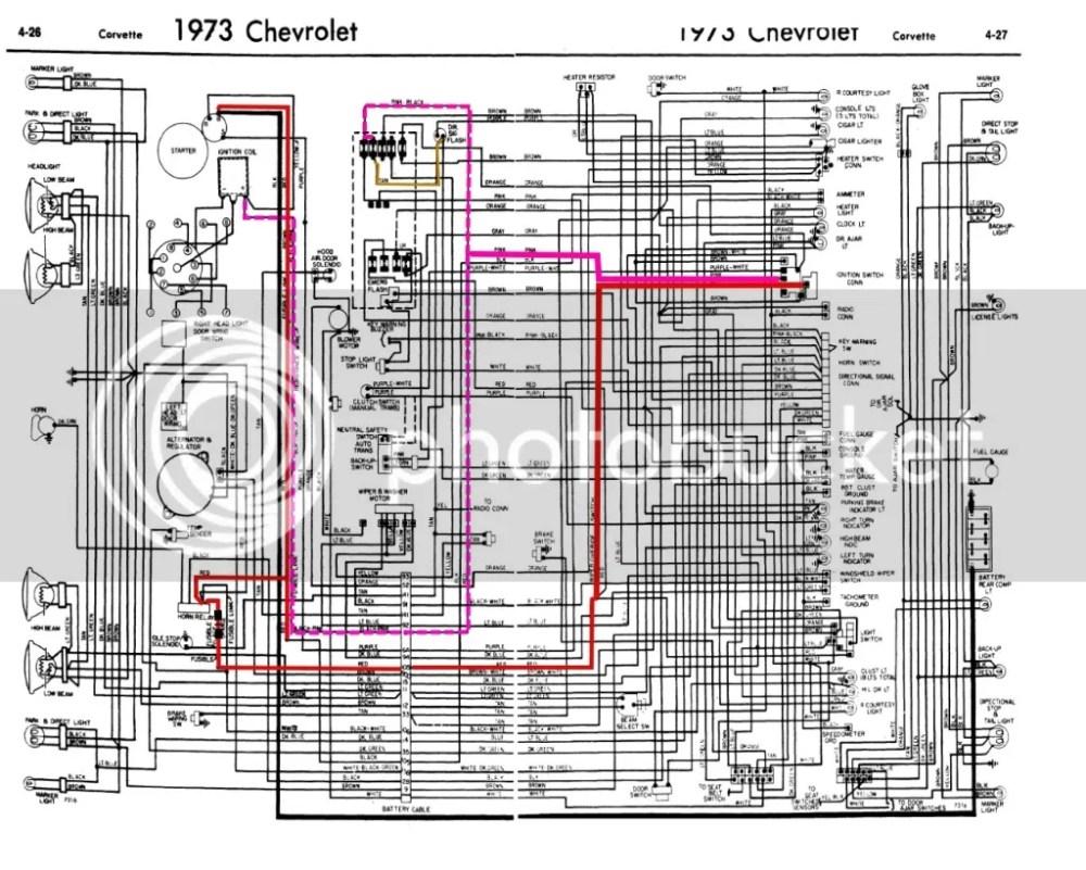 medium resolution of 73corvettewiring