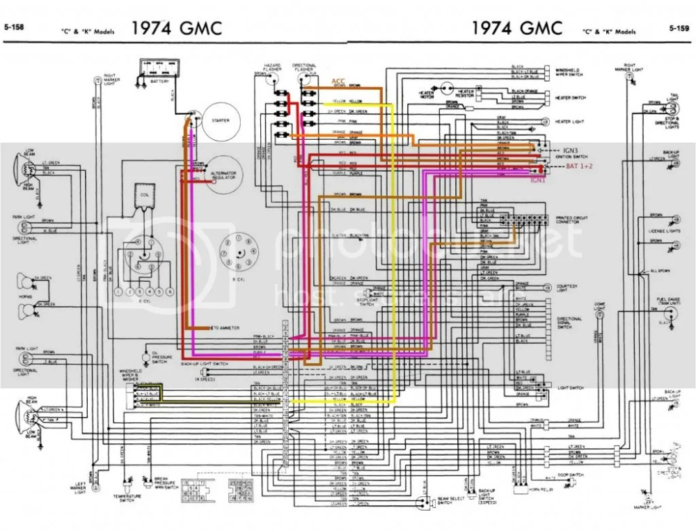medium resolution of 1976 chevy truck fuse box diagram electrical wiring diagrams 93 chevy pickup fuse box diagram 1974 chevy fuse box