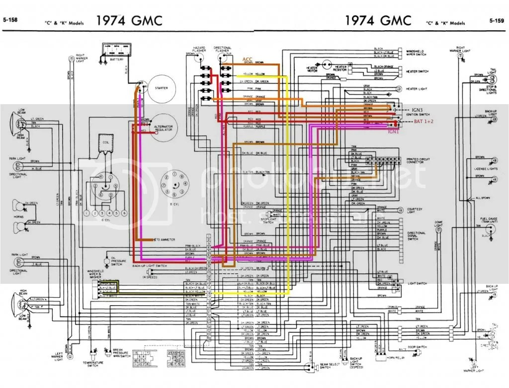 hight resolution of 1976 chevy truck fuse box diagram electrical wiring diagrams 93 chevy pickup fuse box diagram 1974 chevy fuse box