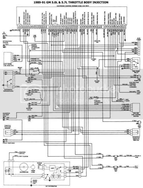 small resolution of 454 tbi wiring diagram