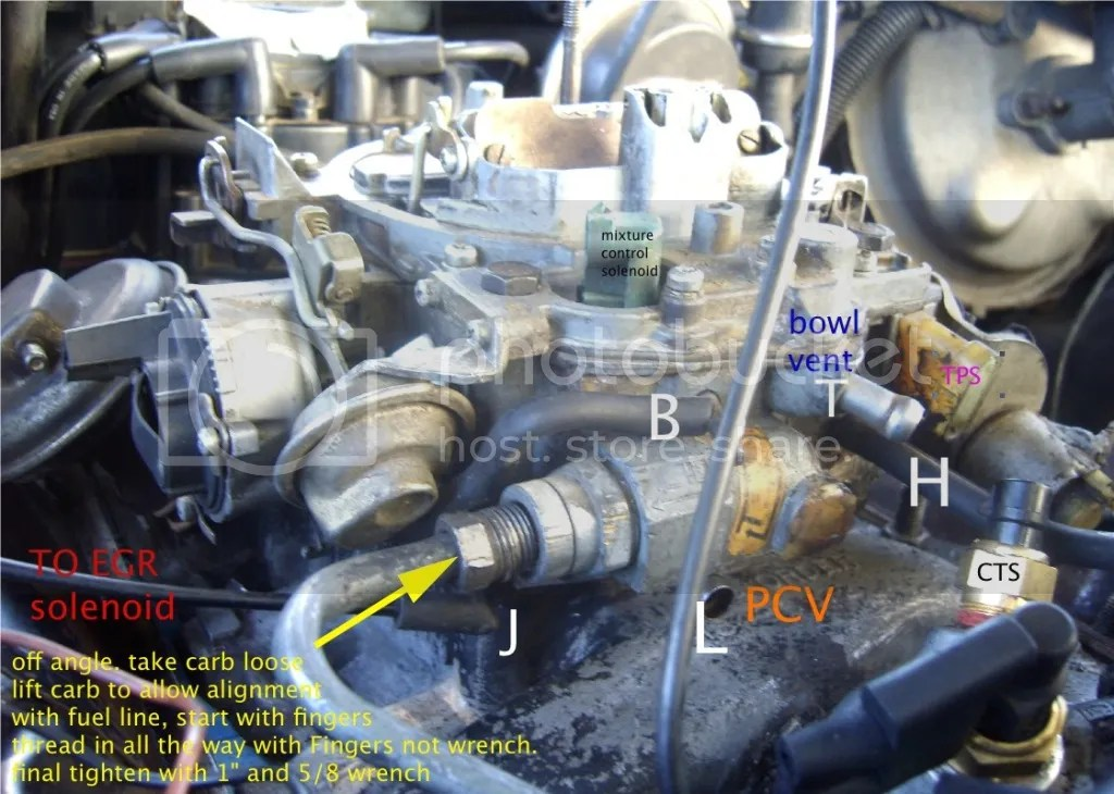 Chevy 305 Vacuum Diagram