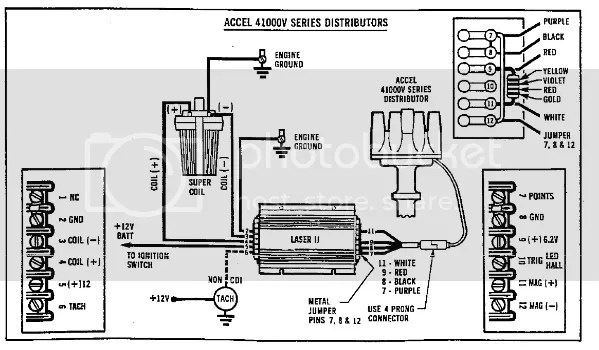 Wiring Diagram For And Accel Distributor