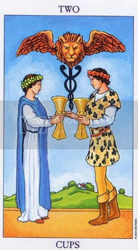 Scorpio - Two of Cups