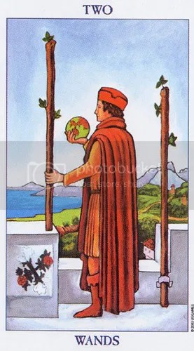 Aries - Two of Wands