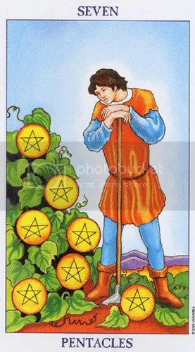Leo - Seven of Pentacles