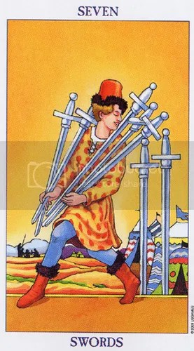 Virgo - Seven of Swords
